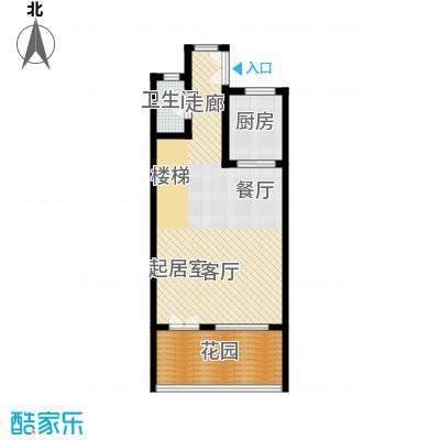 佳兆业东戴河67.84㎡别墅户型10室