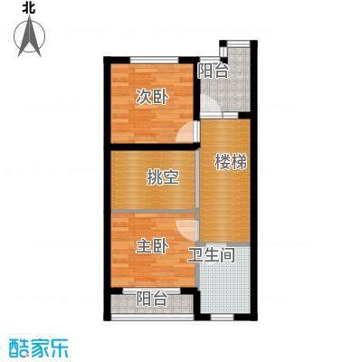 佳兆业东戴河51.75㎡别墅户型10室