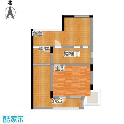 保利生态城66.24㎡47栋1三层户型1室