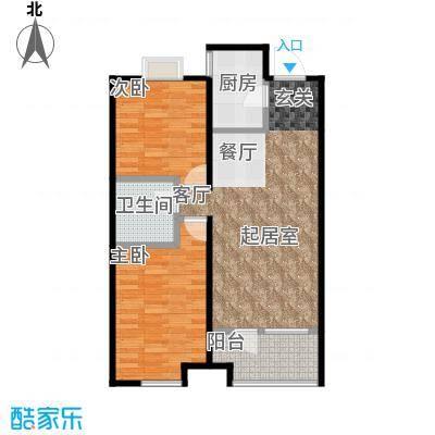 金地艺境75.60㎡户型10室