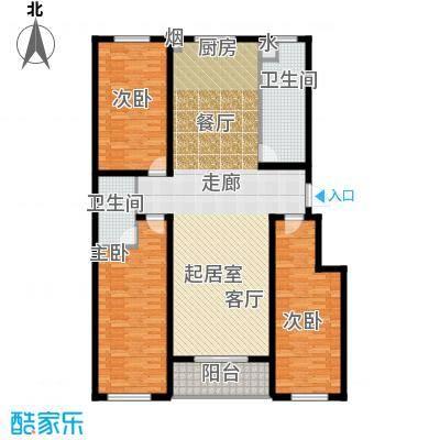 尚品名城A3户型3室2卫
