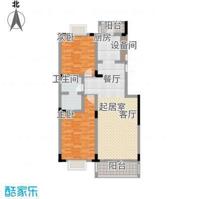 鑫瑞名苑3#1门01 4门02 2室2厅114.73㎡户型