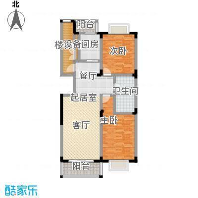 鑫瑞名苑3#2门01 3门02 2室2厅107.76㎡户型