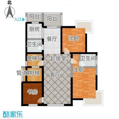 鑫瑞名苑B户型 142.79㎡户型