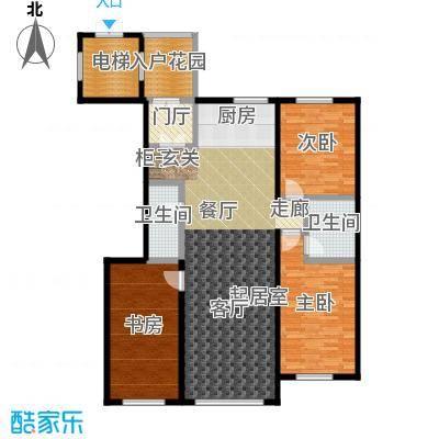 巴塞阳光户型3室2卫