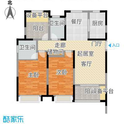 徽盐世纪广场D4户型2室1厅2卫