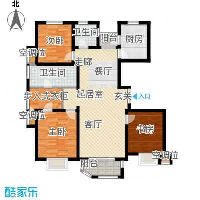 远洋海世纪139.00㎡海悦公馆C7户型3室2厅2卫