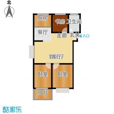 祥瑞家园户型1室1厅1卫1厨