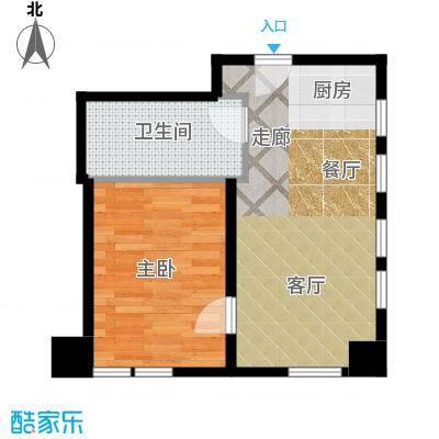 天津公馆户型1室1厅1卫