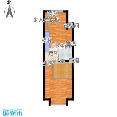阳光100城市丽园A1-2户型2室1厅2卫