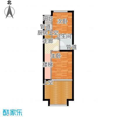 阳光100城市丽园阳光100U空间户型图户型2室1厅1卫