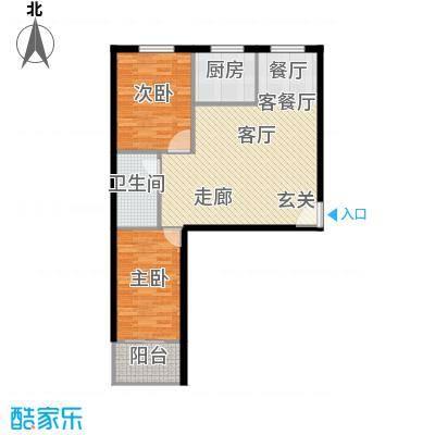 和平嘉园和平嘉园 户型图86㎡两室两厅一卫户型2室2厅1卫
