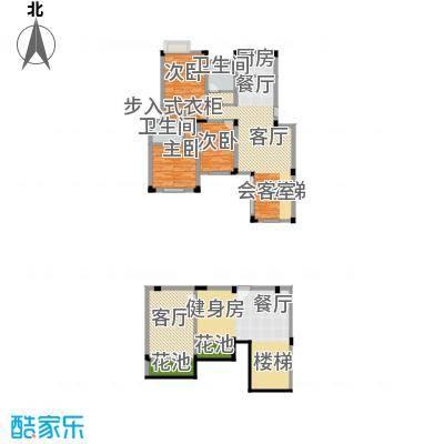 保亿风景沁园一期148.00㎡多层D-1户型3室2厅2卫