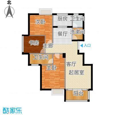 商博东城印象122.25㎡1号楼A户型10室