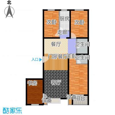 阳光盛景146.41㎡B2四室两厅两卫户型