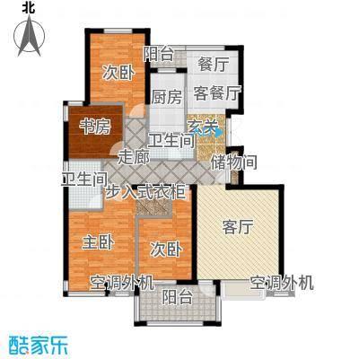 香格里172.00㎡D户型4室2厅2卫