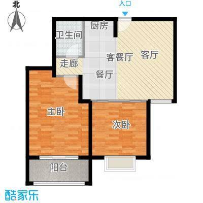 三亚南新悦城76.92㎡8号房户型