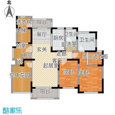 中茵星墅湾135.00㎡6号楼A户型3室2厅2卫户型3室2厅2卫