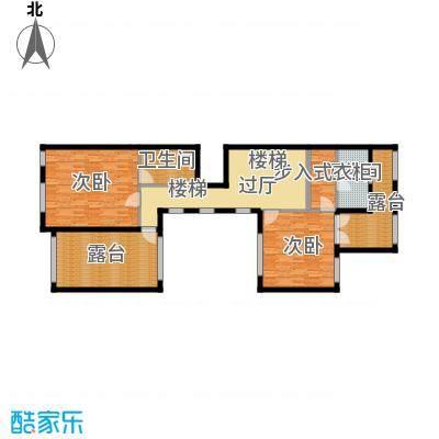钱塘梧桐燕庐113.48㎡A-2三层户型10室