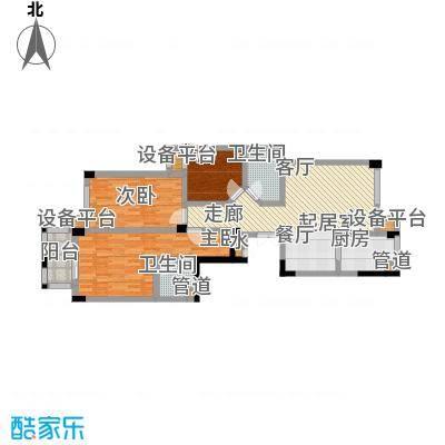 嘉丽阳光广场118.00㎡F户型3室2厅2卫