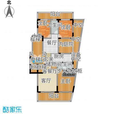 翠屏国际城172.00㎡四房二厅二卫-199平方米-20套户型