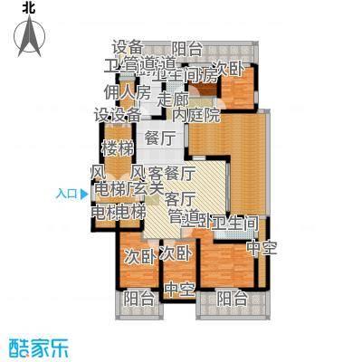 翠屏国际城172.00㎡四房二厅二卫-237平方米-20套户型