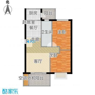 盛世闲庭二期81.13平方米户型