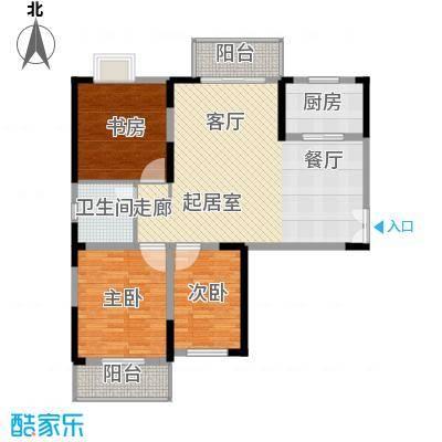 野风・现代景苑102.54㎡4#5#3-27层04户型10室