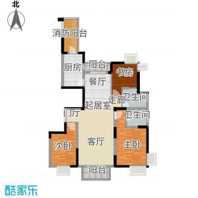 野风・现代景苑112.76㎡6#1单元2-25层01户型10室