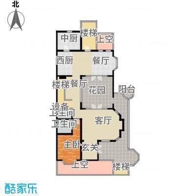 沈阳国王湖352.00㎡伯爵户型1 一层户型