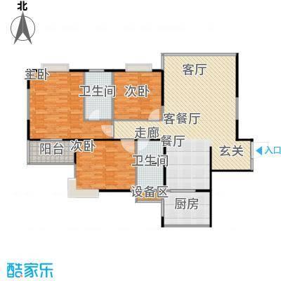 佳馨尊邸户型3室1厅2卫1厨