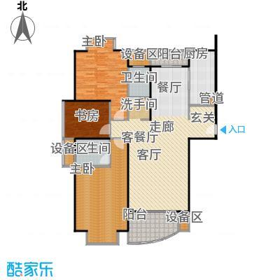 均泰丽轩3室2厅1卫 134.05㎡ 3室2厅1卫1厨134.05㎡户型