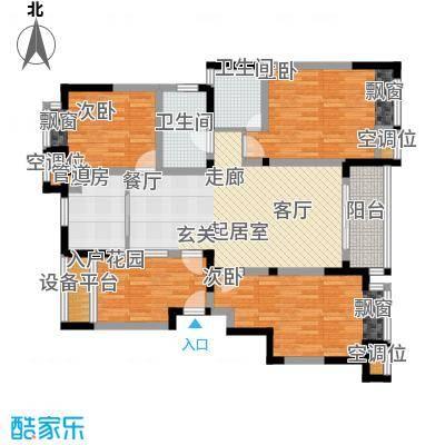 常熟老街常熟老街高层8期GC3三房两厅两卫,119M2户型