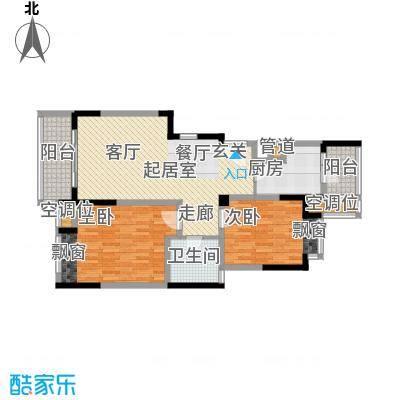 常熟老街常熟老街高层8期-GB9两房两厅一卫,85M2户型