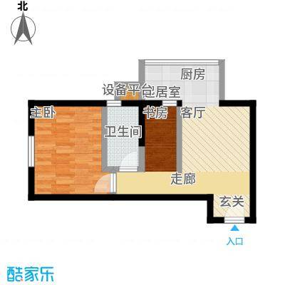 凤城一号户型1室1卫