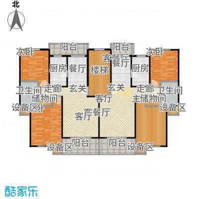 成事高邸2、3、4、5、8、9号楼标准层户型