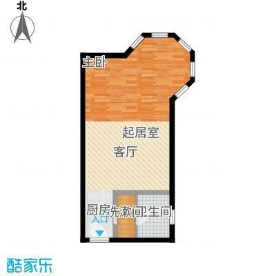 明发商业广场51.41㎡D户型