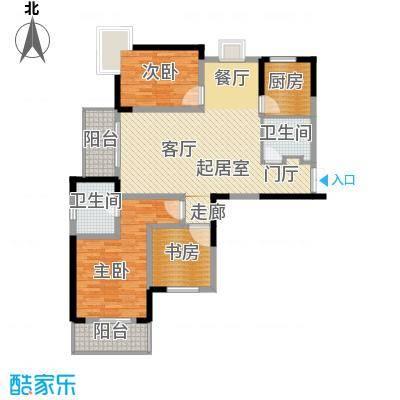 野风・现代景苑111.01㎡2#04户型10室