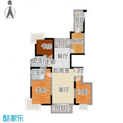 野风・现代景苑114.44㎡3#2单元02户型10室
