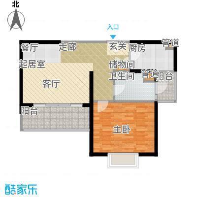 静安阳光华庭73.09㎡房型: 一房; 面积段: 73.09 -73.09 平方米; 户型