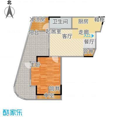 金融街巽寮湾建筑面积约78平米户型