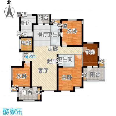 百合公寓4.00㎡A户型