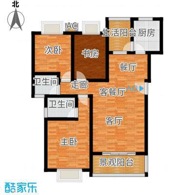 御景东方112.19㎡3室2厅