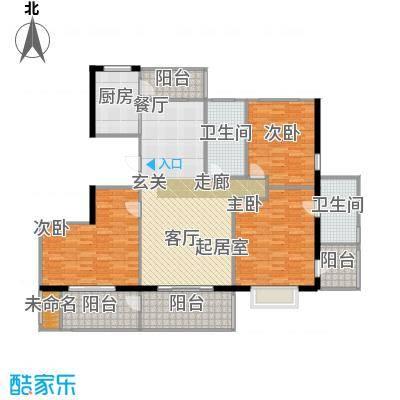 盛世闲庭二期125.07平方米户型