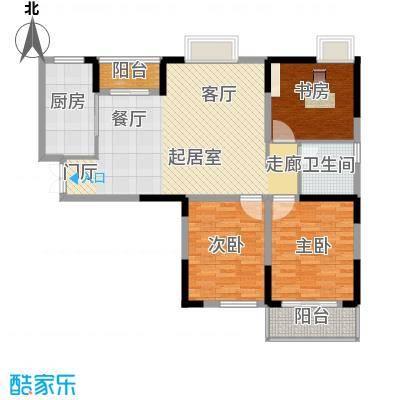 野风・现代景苑104.56㎡1#8#5-25层01户型10室