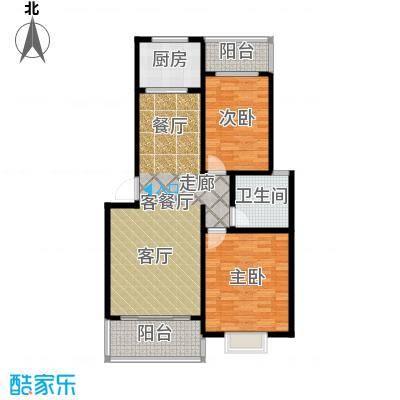 锦绣东城93.80㎡户型10室