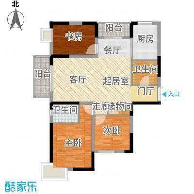 野风・现代景苑107.79㎡1#8#5-25层04户型10室