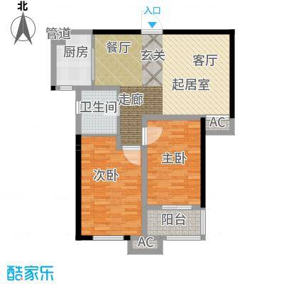 三和馨苑82.20㎡82.2型户型