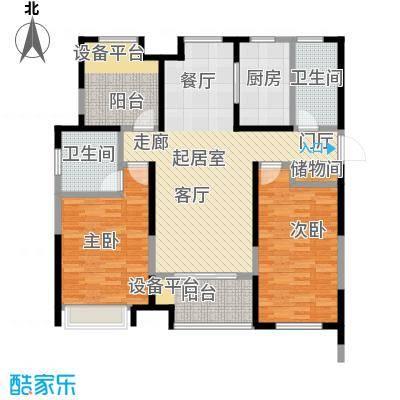 徽盐世纪广场D1户型2室2厅2卫