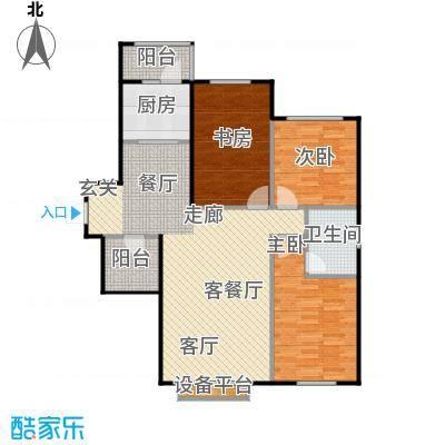 联想科技城设计独特、布局合理户型3室1厅1卫1厨